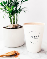 local juicery hot cup