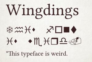 3-Wingdings