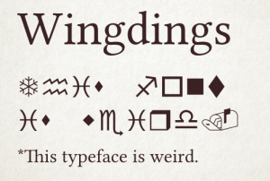 3-Wingdings